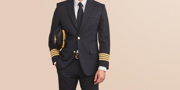 Custom pilot wings and crew pins - For Airline Uniforms