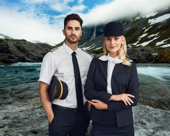 Air Crew uniforms for men and women