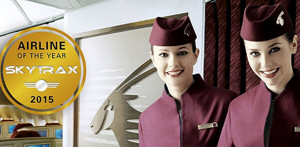 Qatar Airways crew uniforms