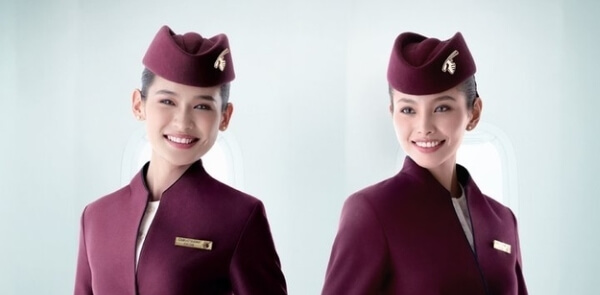 Qatar airways cabin crew uniform
