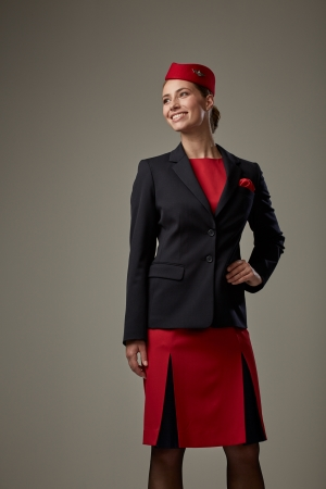 Customized flight attendant uniform