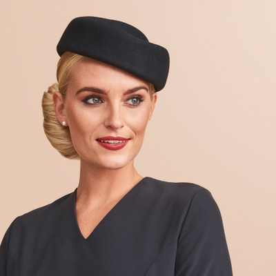 Custom airline hats for flight attendants