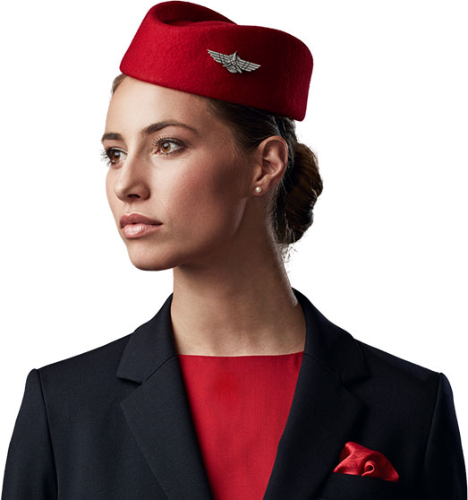 Customized cabin crew uniform developed for Kenya Airways