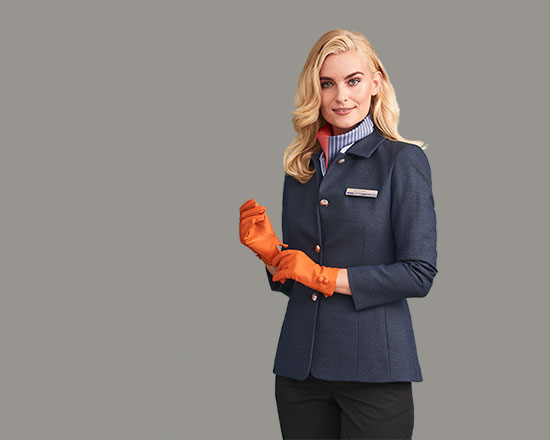 Airline uniform accessories for pilot and crew