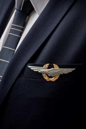 Custom pilot uniform accessories