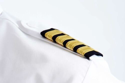 Custom airline uniform accessories