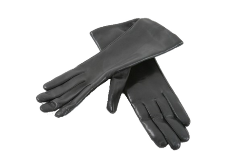 Uniform accessories: leather gloves