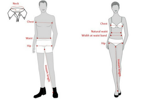 How to measure for corporate clothing and uniforms