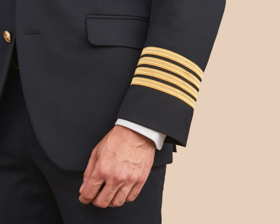 Custom pilot uniform jackets