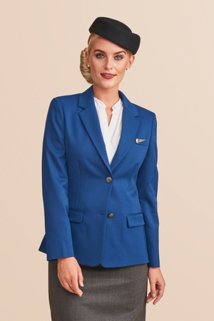 Premium flight attendant jacket