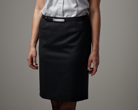 Uniform skirts for flight attendants