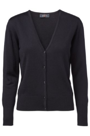 Cardigan for airline cabin crews