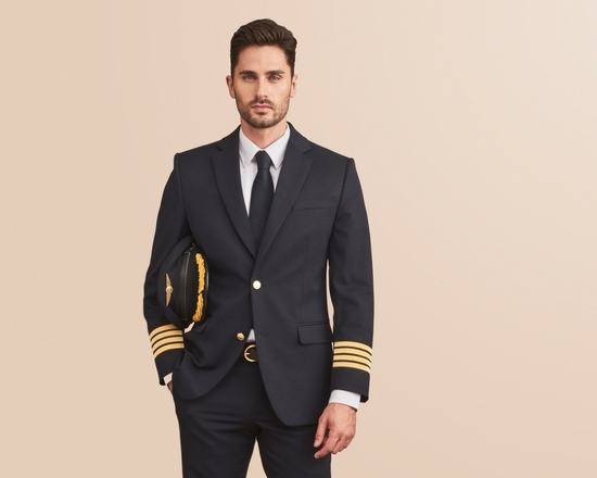 Airline pilot uniforms