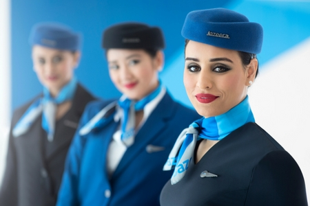 Uniform accessories for Jazeera Airways